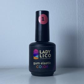 Gum elastic color 1