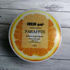Холодный крем-парафин Апельсин